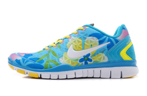 Womens_Nike_Free_TR_Fit_2_Blue_White_Lemon_Yellow